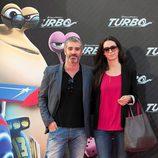 Adrià Collado en la presentación de 'Turbo' en Barcelona
