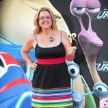 Ana Tarrés en la presentación de 'Turbo' en Barcelona