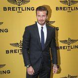 David Beckham en la inauguración de una tienda Breitling en Londres