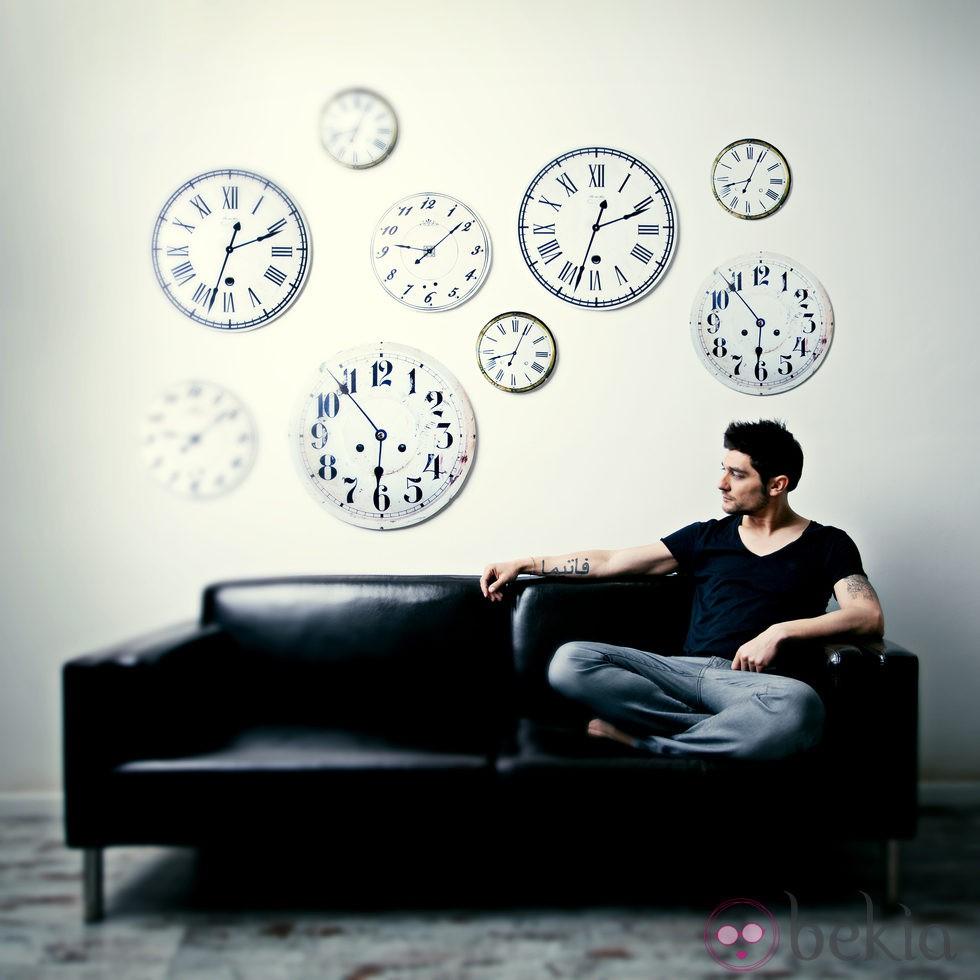 Diego Martín en la presentación de su nuevo CD, 'Siendo'