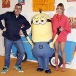 Florentino Fernández y Patricia Conde en el estreno de 'Gru 2. Mi villano favorito'