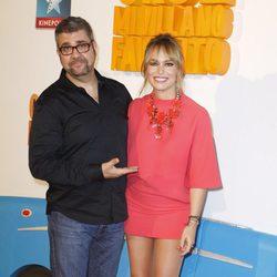Patricia Conde y Florentino Fernández en el estreno de 'Gru 2. Mi villano favorito'