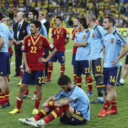 'La Roja' decepcionada tras perder la final de la Copa Confederaciones 2013