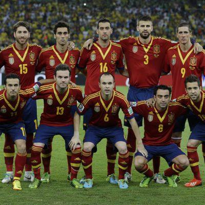 Alineación de España en la final de la Copa Confederaciones 2013