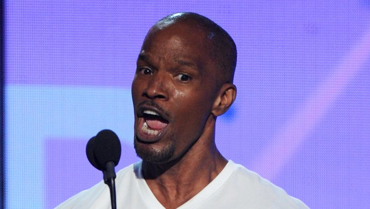 Jamie Foxx en los BET Awards 2013