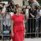Lea Seydoux en la presentación de la colección de alta costura de Dior en París