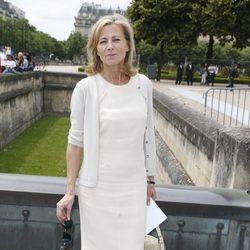 Clarie Chazal en la presentación de la colección de alta costura de Dior en París