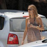 Vanesa Lorenzo de vacaciones en Ibiza
