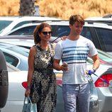 Maria Shriver y Patrick Schwarzenegger en Malibú