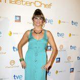 Eva, la segunda clasificada, durante la final del programa 'Masterchef' en Madrid