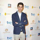 Fabian, el tercer clasificado, durante la final del programa 'Masterchef' en Madrid
