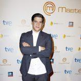 Juan Manuel, el ganador, durante la final del programa 'Masterchef' en Madrid