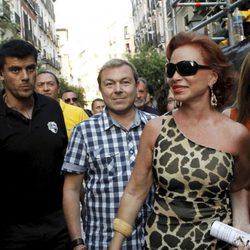 Paloma San Basilio en el pregón del Orgullo Gay 2013 de Madrid