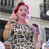 Paloma San Basilio leyendo el pregón del Orgullo Gay 2013 de Madrid