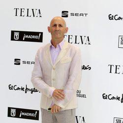 Modesto Lomba en la fiesta de celebración del 50 aniversario de la revista Telva