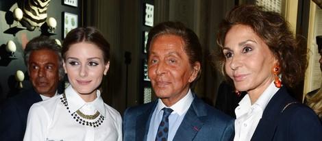 Olivia Palermo, Valentino y Nati Abascal en la Semana de la Alta Costura de París otoño/invierno 2013/2014