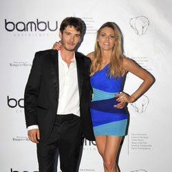 Amaia Salamanca y Yon González en la fiesta del quinto aniversario de Bambú