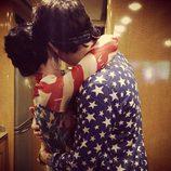 John Mayer y Katy Perry celebrando el Día de la Independencia 2013 en Estados Unidos