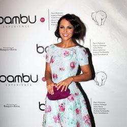 Paula Echevarría en la fiesta del quinto aniversario de Bambú