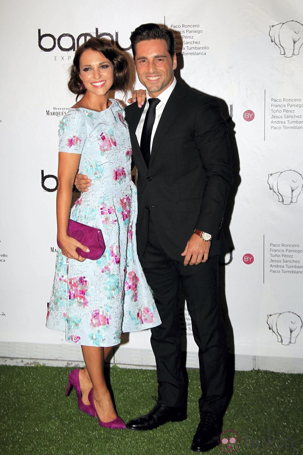 Paula Echevarría y David Bustamante en el quinto aniversario de Bambú