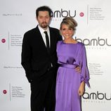 Ramón Campos y Teresa Fernández-Valdés en la fiesta del quinto aniversario de Bambú