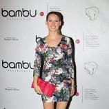 Manuela Vellés en la fiesta del quinto aniversario de Bambú