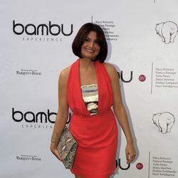 Ledicia Sola en la fiesta del quinto aniversario de Bambú