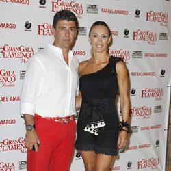 Cristina Sánchez acompañada en el espectáculo 'Gran Gala Flamenco' en Madrid