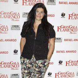 Lucía Etxebarría en el espectáculo 'Gran Gala Flamenco' en Madrid