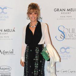 Silvia Tortosa en la 'Soul & Stars Gala' en Marbella