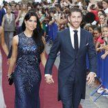 Sergio Ramos y Pilar Rubio en la boda de Alejandro Talavante y Yessica Ramírez