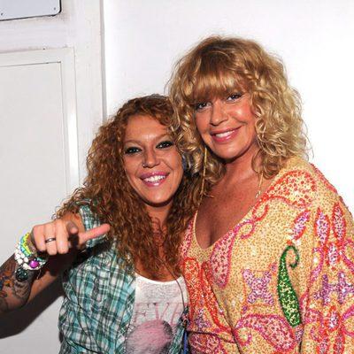 Bárbara Rey y su hija Sofía Cristo