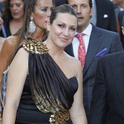 Niña Pastori en la boda de Alejandro Talavante y Yessica Ramírez
