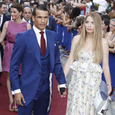 José María Manzanares y Rocío Escalona en la boda de Alejandro Talavante y Yessica Ramírez