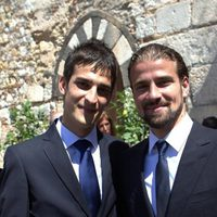 Mario Biondo con su hermano Andrea Biondo