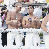 Andrés Burguera en el desfile del Orgullo Gay 2013