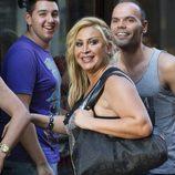 Raquel Mosquera en un concierto de Obús en el restaurante de Escassi