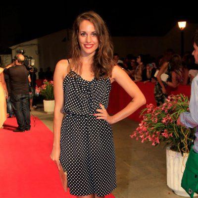 Silvia Alonso en la inauguración del Festival de Cine d'Alfàs del Pi