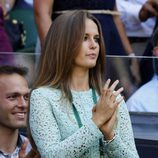 Kim Sears en la final de Wimbledon 2013