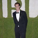 Andy Murray en la fiesta de celebración de su victoria en Wimbledon 2013