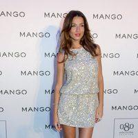 Raquel Jiménez en el desfile de Mango otoño/invierno 2013 en la 080 Barcelona Fashion