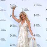 Goldie Hawn en una cena solidaria de la Fundación Novak Djokovic