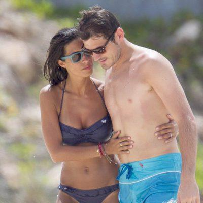 Iker Casillas y Sara Carbonero, muy cariñosos durante sus vacaciones en el Caribe