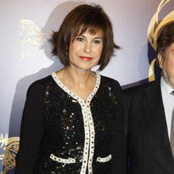 Concha García Campoy en la presentación del musical 'El último Jinete'
