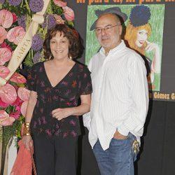 Carmen Maura en la presentación de 'Ni para ti ni para mí'