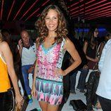 Jessica Bueno en el desfile de Custo Barcelona en la 080 Barcelona Fashion