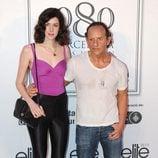 Brianda Fitz James Stuart con Custo Dalmau en el desfile de Custo Barcelona en la 080 Barcelona Fashion