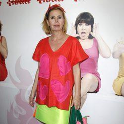 Ágatha Ruiz de la Prada en la presentación de la obra de teatro 'Más sofocos' en Madrid