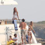 Uma Thurman y su familia de vacaciones en Francia