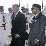 El Rey Juan Carlos retoma su agenda intercional tras su operación de hernia discal en Marruecos